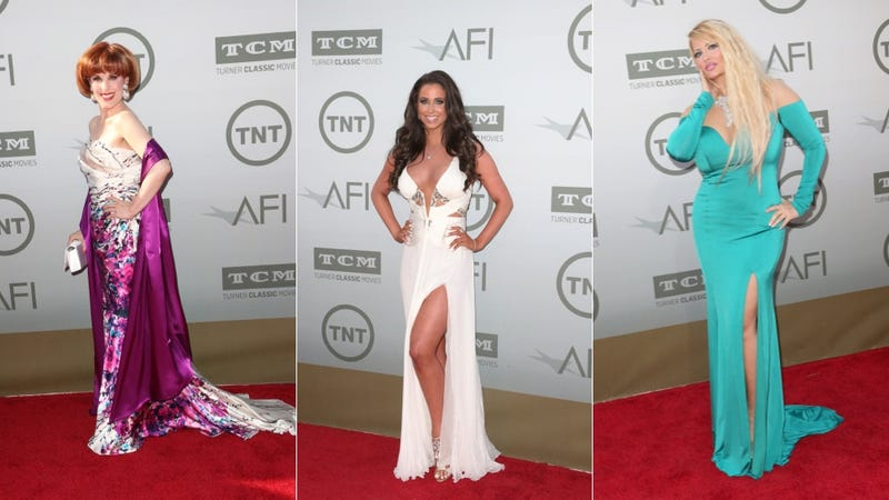 Lots of Lace and Fluttery Gowns at Jane Fonda's Life Achievement Award