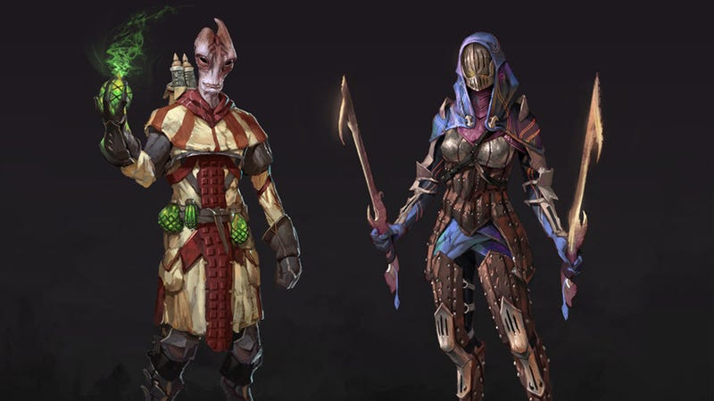 Mordin and Tali Look Perfect in Dragon Age as Long as You Don't Think About It Too Much
