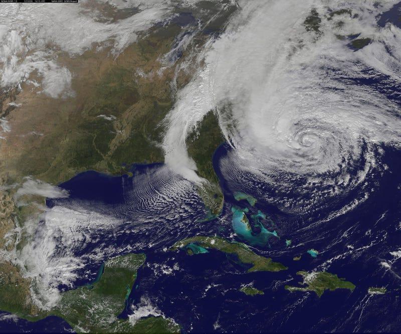 Hurricane Sandy Is Here