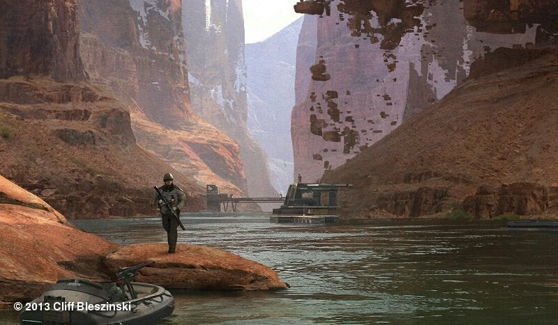 """Cliff Bleszinski's Working on a """"Proper"""" PC Shooter"""