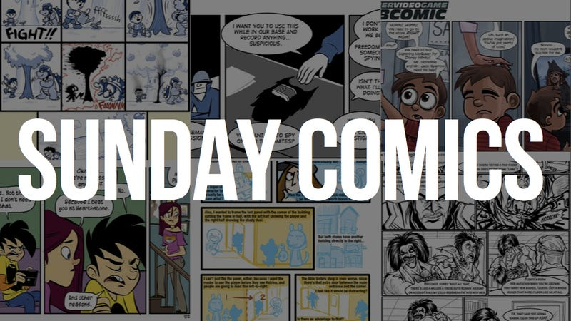 Sunday Comics: The Bigger They Are ...