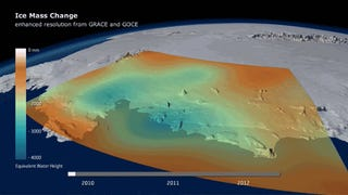 Antarctica Is Losing So Much Ice It's Throwing Off Earth's Gravity