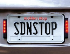 Sudden Stop Helps Prevent Rear-End Accidents