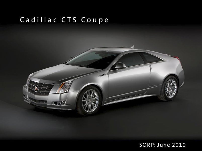 2010 cadillac cts coupe revealed by crappy economy. Black Bedroom Furniture Sets. Home Design Ideas