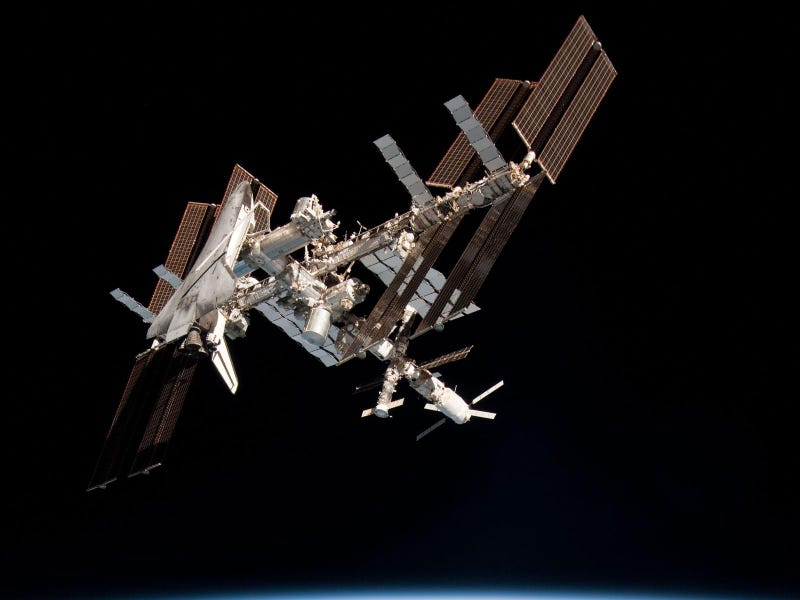 The Space Shuttle and the ISS Gallery
