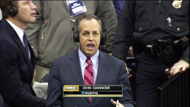 John Giannone Is Having A Bad Day