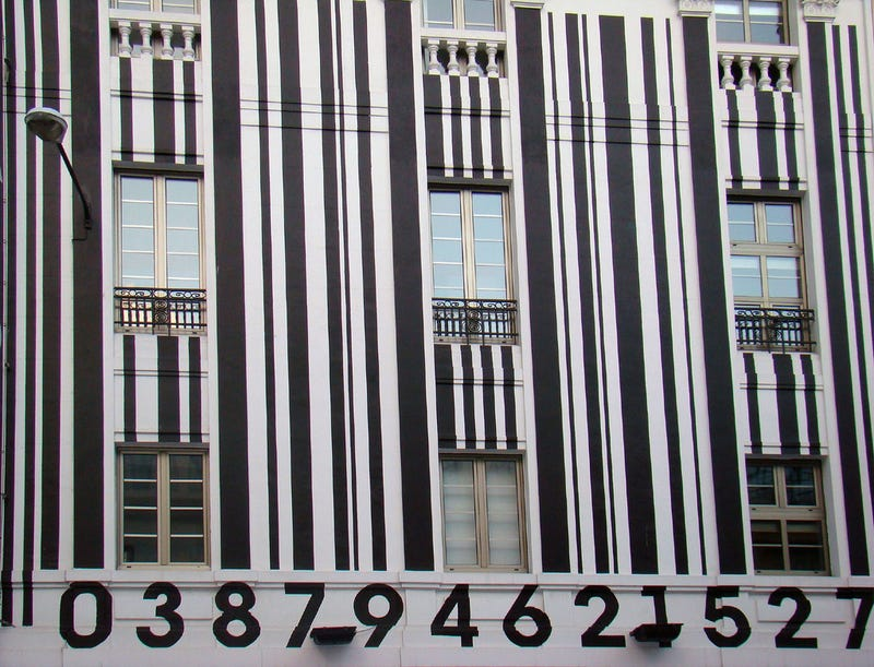 Buildings Designed to Look Like Barcodes