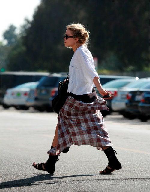 Mary Kate Olsen: Grunge Meets Gladiator
