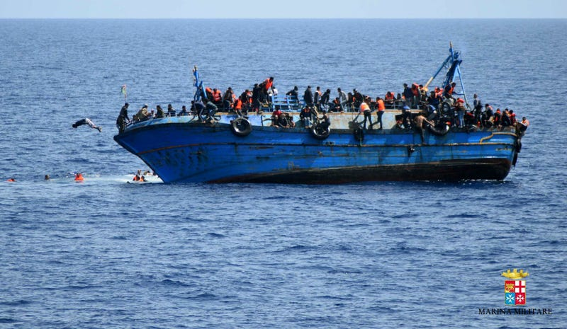 As Many as 900 Migrants Heading Toward Italy Died This Week at Sea