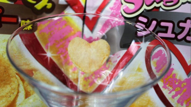 These Potato Chips Are Designed for Lovers