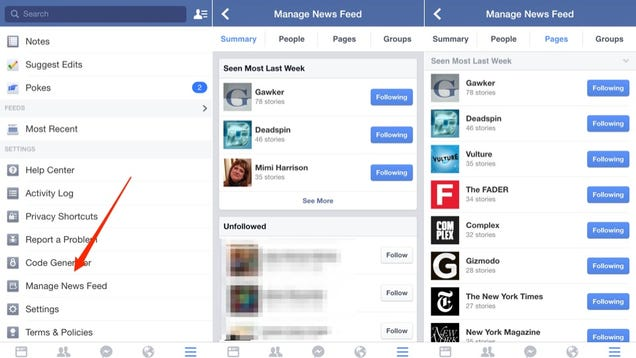 Facebook Just Made It Super Easy to Boot Junk Out of Your Newsfeed