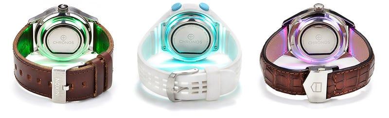Este pequeño disco añade funciones de smartwatch a cualquier reloj de pulsera