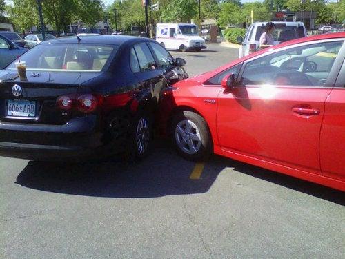 Did A Dog Crash This Prius?
