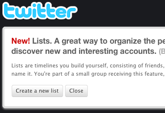 Twitter Officially Rolls Out Lists