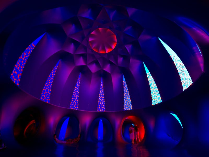 These Womb-Like Cathedrals of Color Are Made From Giant Balloons