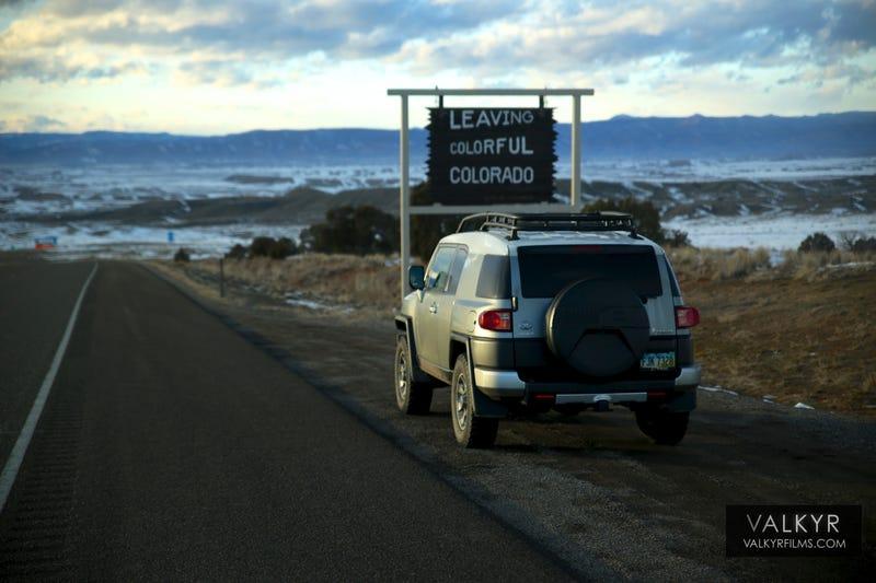 I drove 2300 miles across the US in an FJ Cruiser