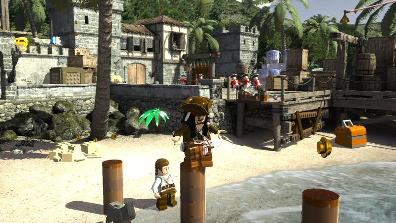 Pirates Of The Caribbean Has Never Been So Blocky