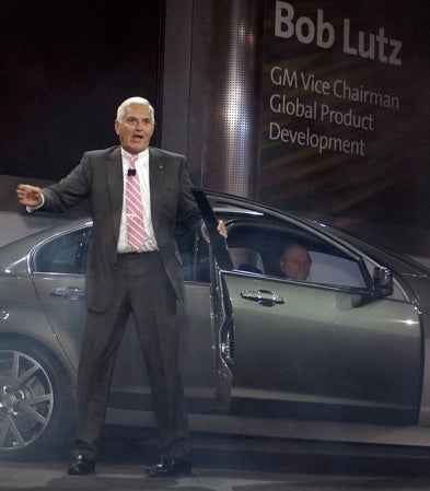 """Maximum"" Bob Lutz On G8: ""It Seemed Like A Good Idea At The Time"""