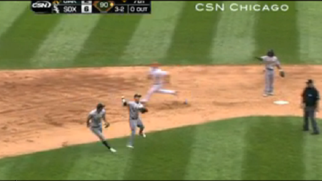 Is This The Worst Play In The History Of Baseball? AJ Pierzynski Scores From First On A Groundout