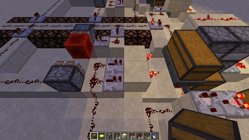 A Minecraft Player Just Created What Could Be The Beginnings of Artificial Intelligence, Sort Of