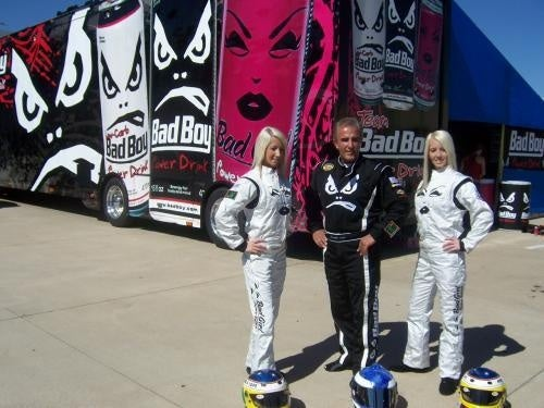 NASCAR Truck Cope Twins: Racing Photos