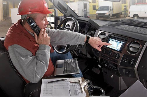 Ford Offering 3G-Connected Dashboard Computers in 2009 Trucks