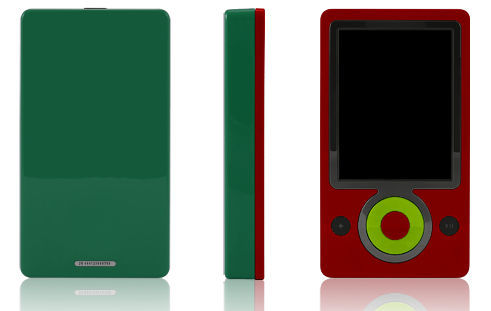 Colorware Extends Paintjobs to Zunes