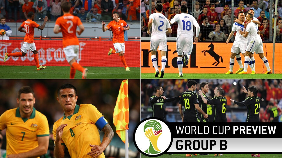 World Cup Group B Preview: Not Quite The Group Of Death, But Damn