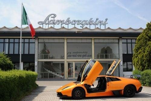 Lamborghini Factory Tour: Photos