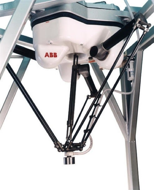 ABB FlexPicker Robot's Legs Move So Fast it's Scary