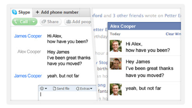 "Facebook + Skype Video Chat = ""Something Awesome"" (Updated: Hands-On)"