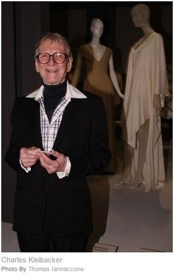 Legendary American Couturier Charles Kleibacker Dead At 88