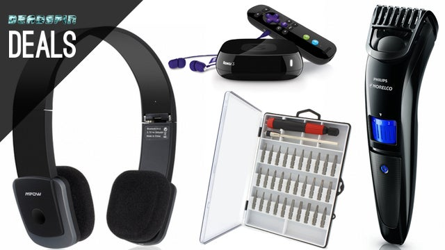 Deals: $15 Beard Trimmer, Cheap Bluetooth Headphones, Roku 3