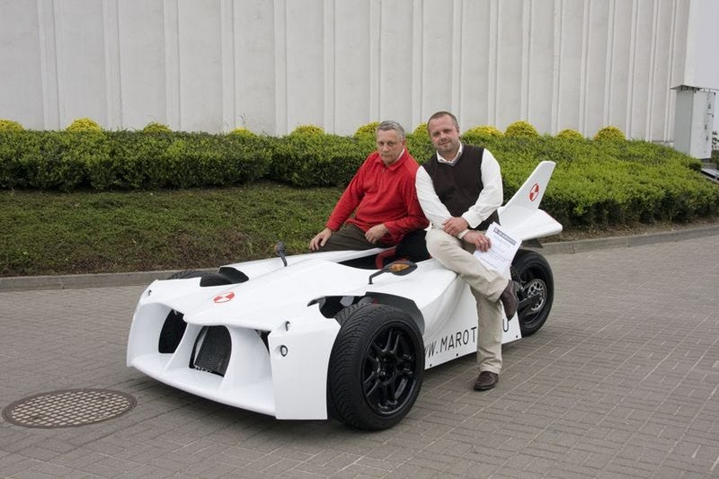 Homemade Marotti Trike Inspired By Jets