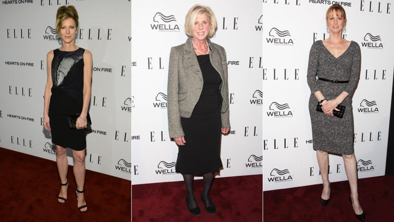 Flirty Frocks and Hideous Hose at the Elle Women in Television Celebration