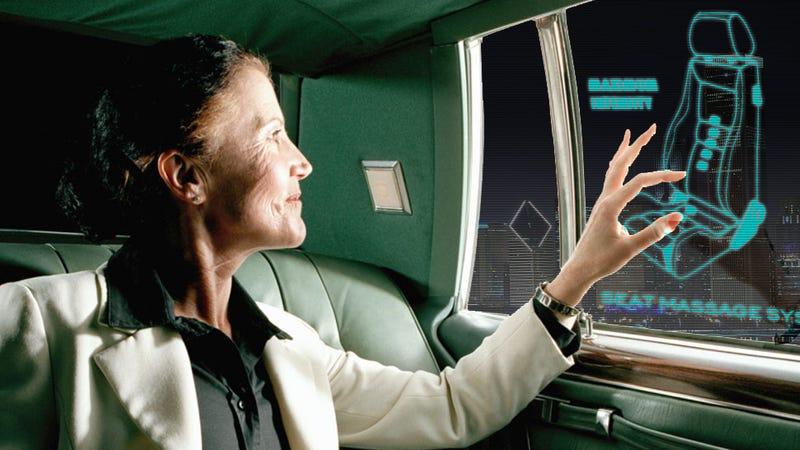 This Idea Will Revolutionize Passenger Controls In Cars