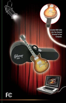 USB Gibson Les Paul Flash Drive