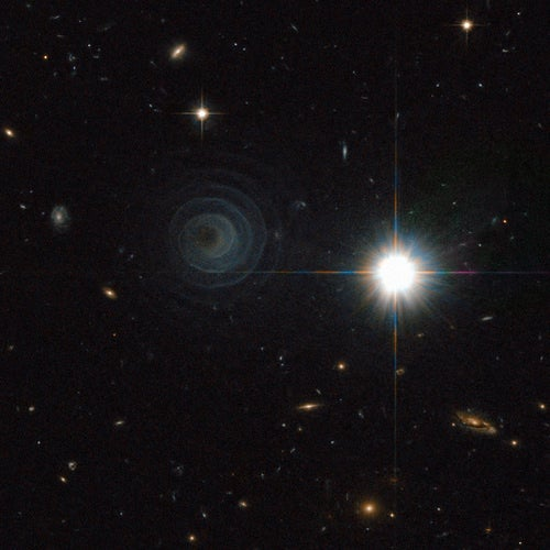 The Amazing 'Death Spiral' of a Binary Star