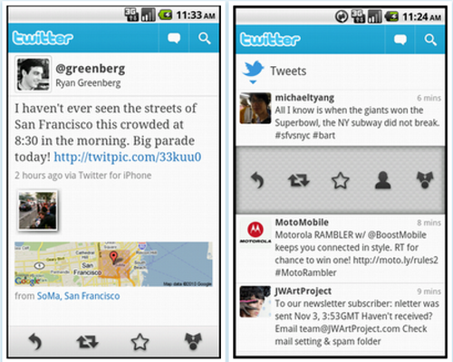 Twitter For Android Update Catches Up With iOS Version
