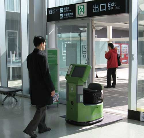 RoboPorter Carries Luggage for the Lazy