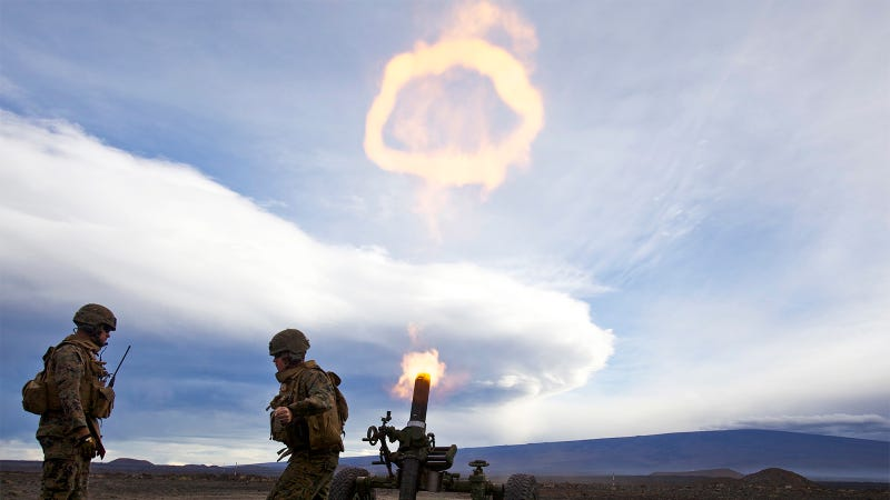 The Mortar that Makes Holes In the Sky