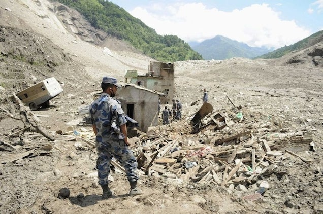 Floods in Nepal Kill at Least 85, Raise Concerns of Cholera