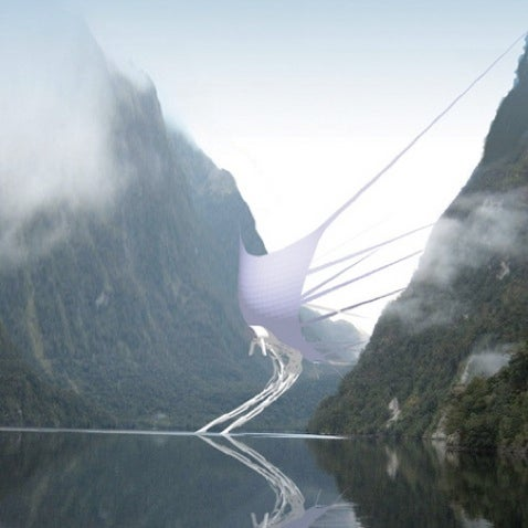 Wind Dam Design for Russian Lake is Spooky, Awesome