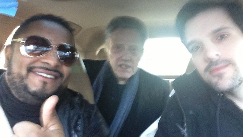 Christopher Walken Couldn't Catch a Cab So He Hitched a Ride With Fans