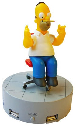 Homer Simpson USB Hub; Not Classic Simpsons