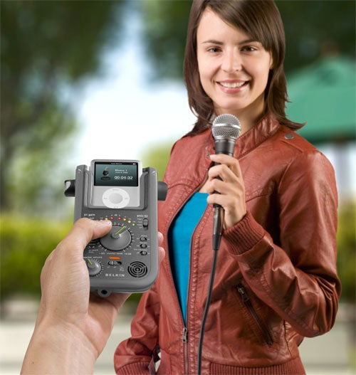 Belkin Delivers Dual-XLR Audio Recording to the iPod