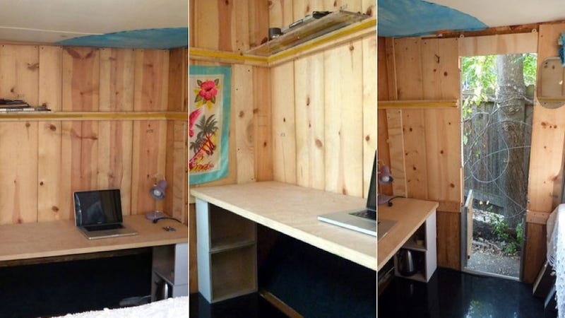 Airbnb Host Will Let You Sleep in Wooden Box for $1,367 a Month