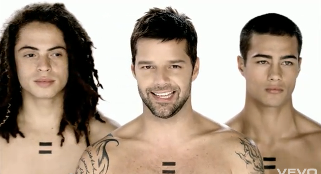 Ricky Martin's First Gay Music Video Is Atrocious