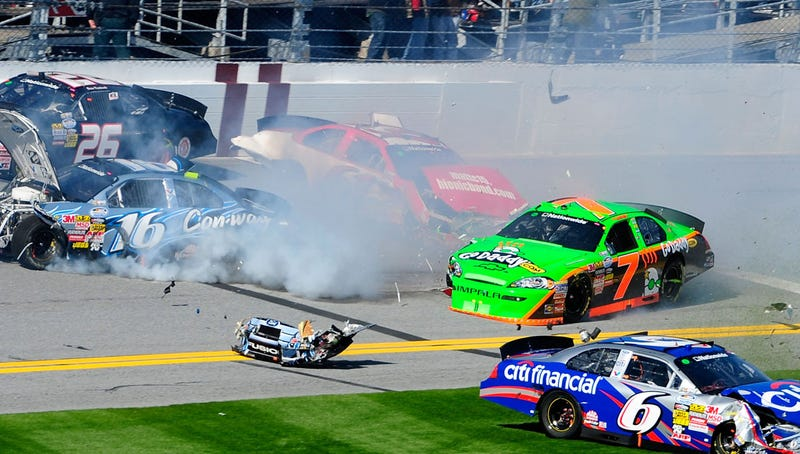 VIDEO: Danica Patrick, Hype Crash In First NASCAR Race