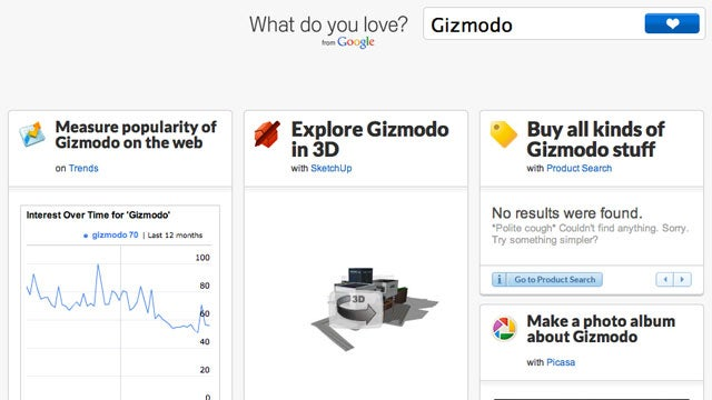Google Wants to Know What You Love